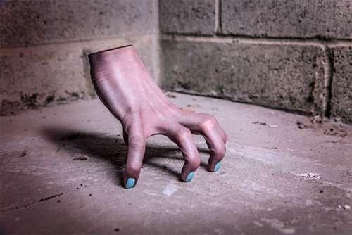 Scary Hand Free Photo