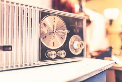 Vintage Radio Player Free Photo