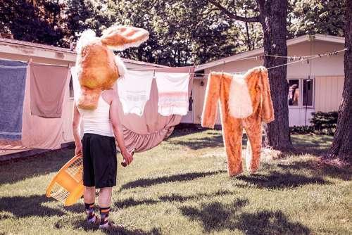 Washing LIne Free Photo