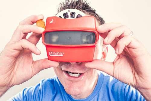 Retro Virual Reality Free Photo