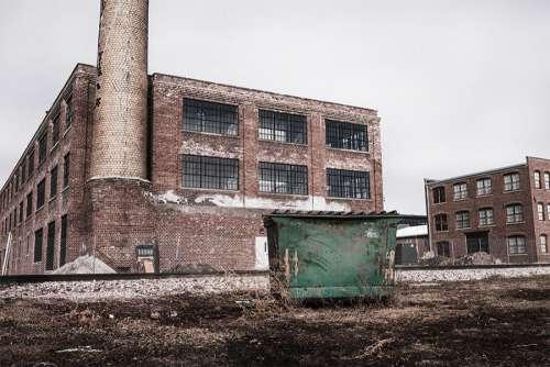 Abandoned Warehouse Free Photo