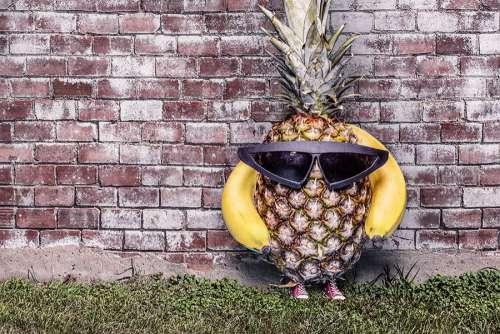 Cool Pineapple Free Photo