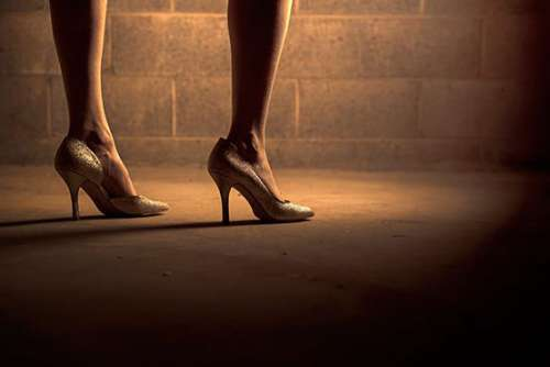 Woman in Heels Free Photo
