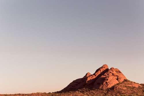 Desert Landscape Free Photo
