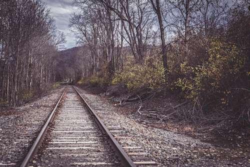 Scary Tracks Free Photo