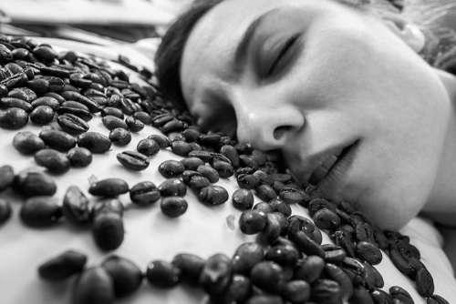 Sleeping Coffee Free Photo