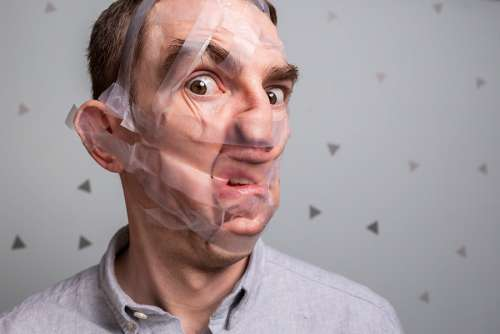 Face Tape Free Photo