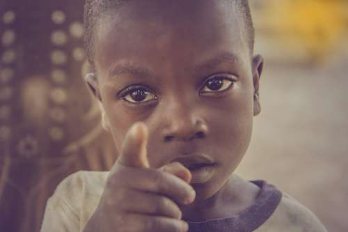 Black Child in Africa