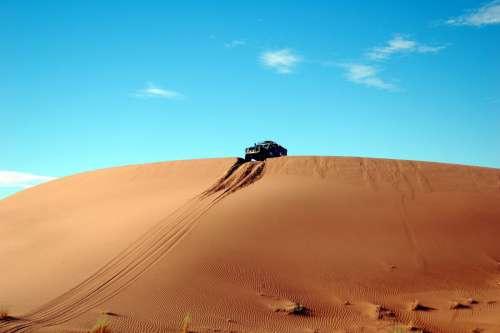 Truck in African Desert