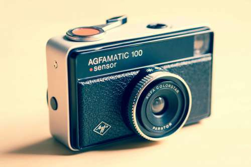 Agfamatic Vintage Camera