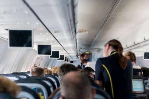Airplane Stewardess