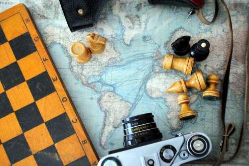 Chess Board & Camera