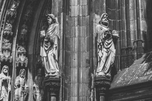 Statues at Church