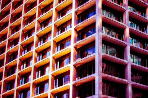 Colourful Architecture