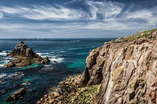 Cornish Rocks, England