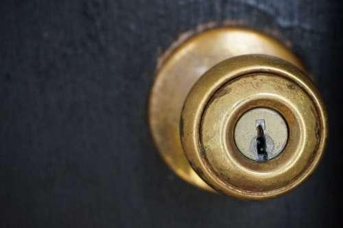 Door Knob and Keyhole