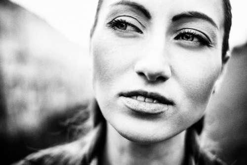 Portrait Face of Woman