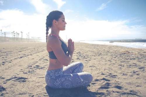 Woman Healthy Yoga