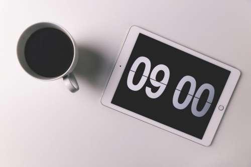 iPad, Coffee & Time