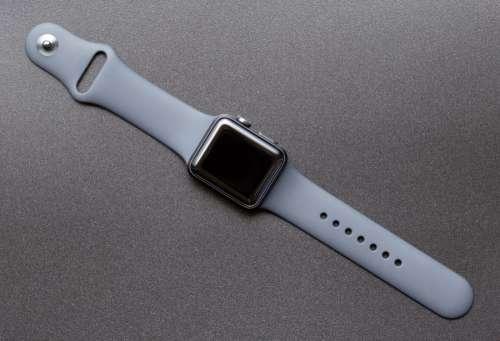 Apple Watch on Desk