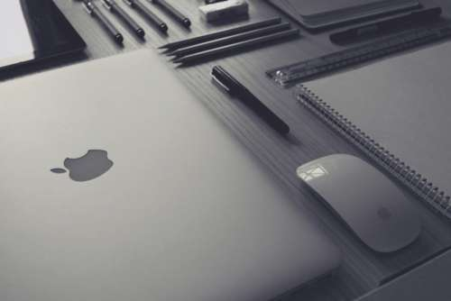 Grayscale Laptop