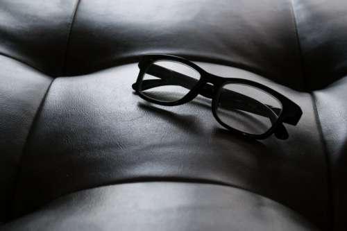 Eyeglasses on Chair