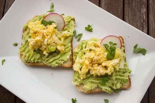 Avocado Health Snack