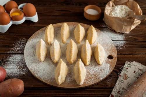 Baking Pies in Kitchen