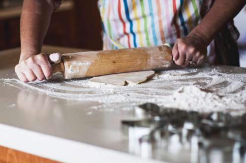 Baking With Rolling Pin