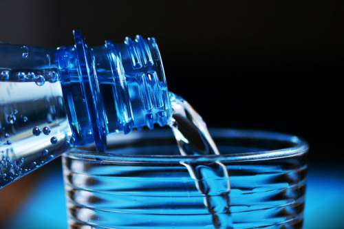 Mineral Water Drink