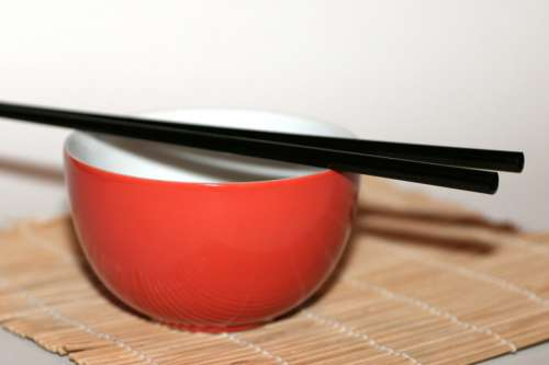 Chopsticks & Bowl