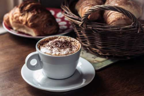 Coffee & Croissants for Breakfast