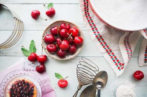 Making Cherry Pie