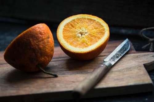 Oranges & Knife