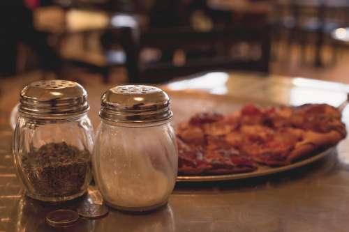 Salt & Pepper in Cafe
