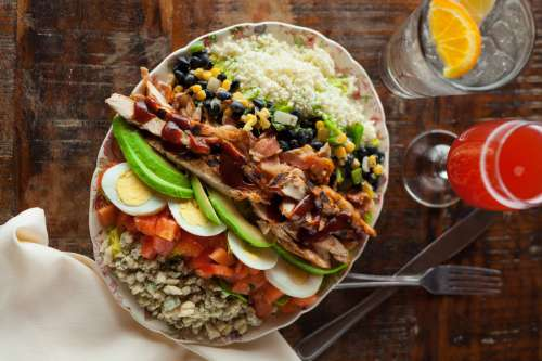 Large Salad Dinner