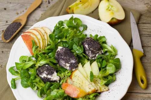 Salad in Kitchen