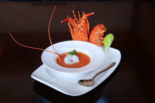 Soup with Lobster
