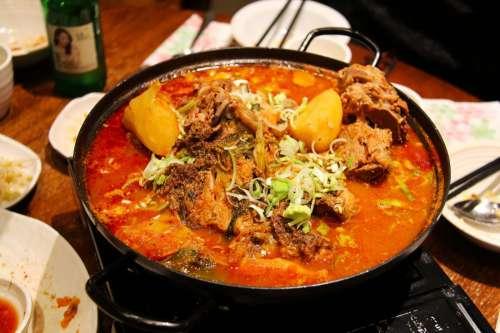 Spicy Korean Dinner