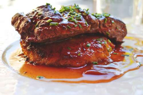 Beef Steak Dinner
