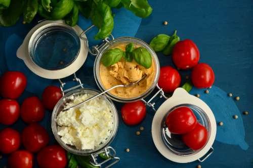 Tomatoes & Feta Cheese