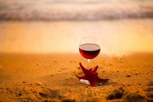 Wine on S&y Beach