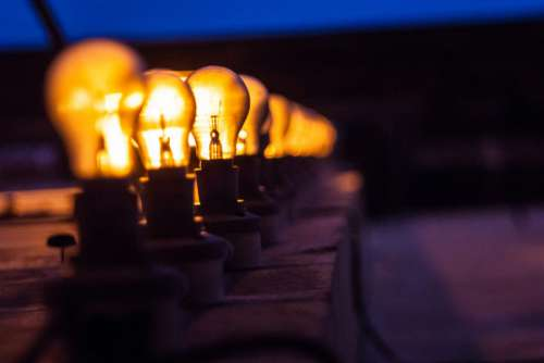 Light Bulb Line