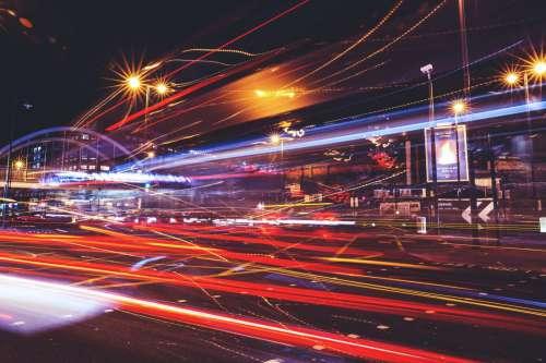 Light Trails London
