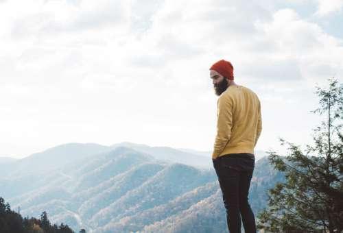 Man With Beard on an Adventure