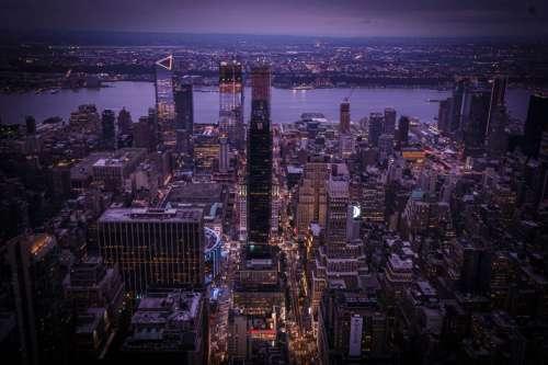 Manhattan Evening View
