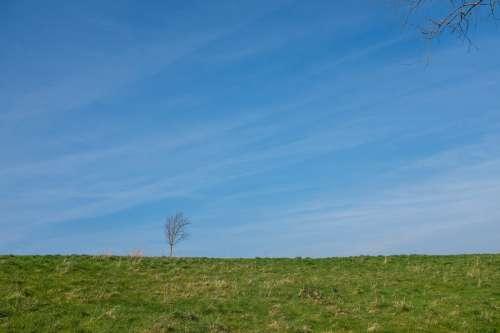 Minimal Blue Sky