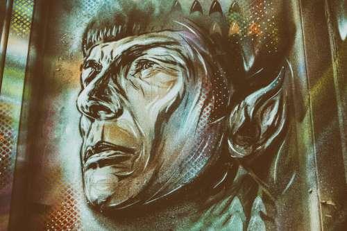 Street Art Star Trek