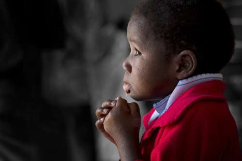 Orphan in Africa