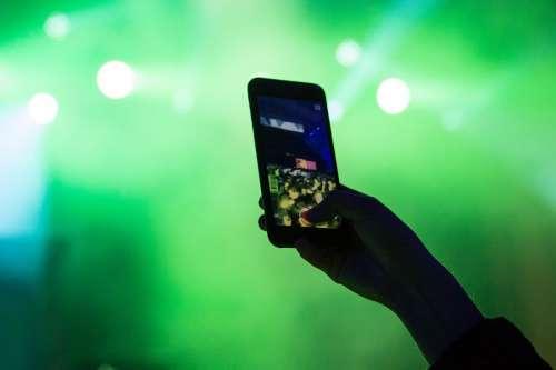 Phone at Concert